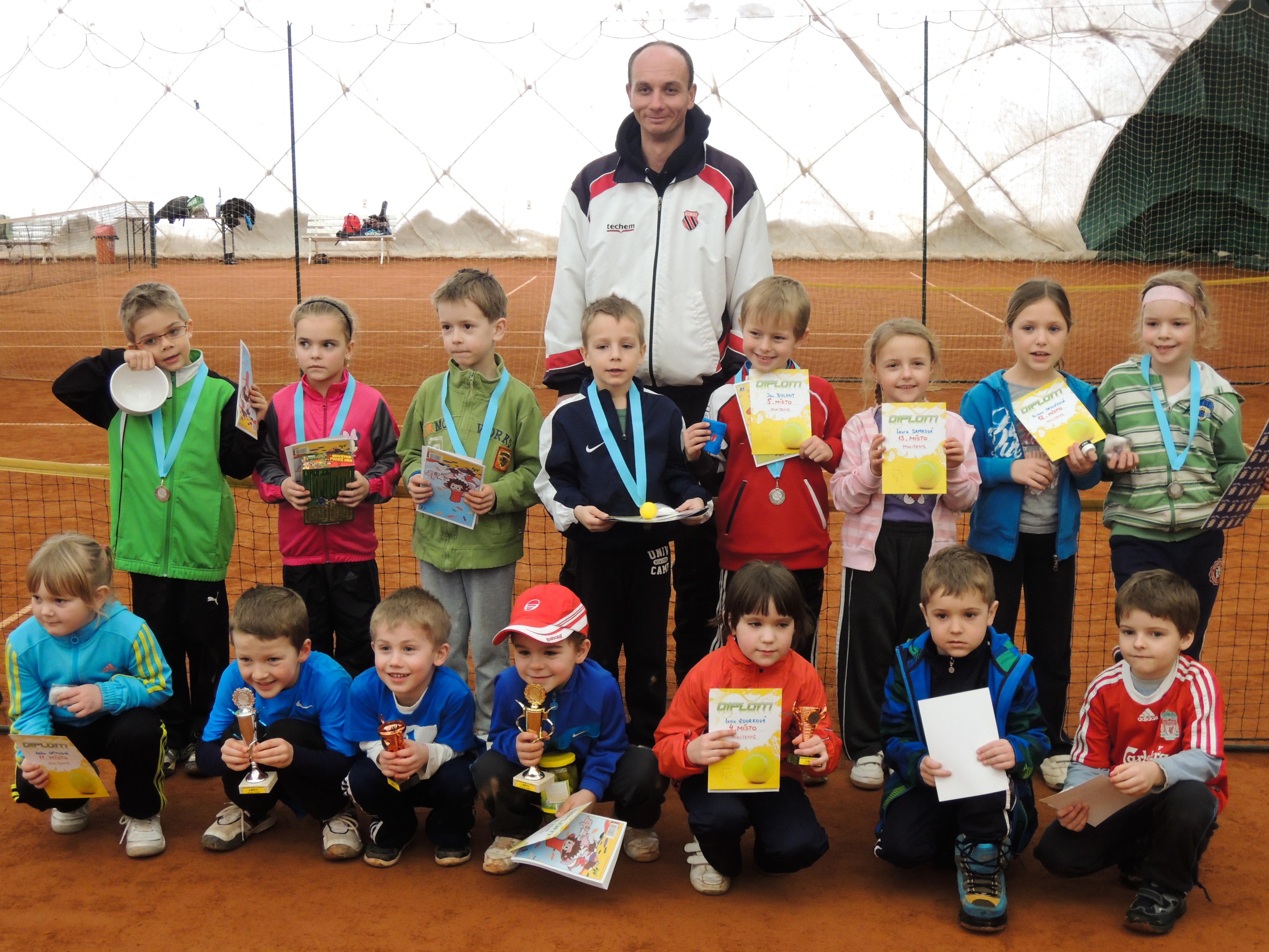 Minitenis Babolat Serie III. Znojmo  23.2.2013