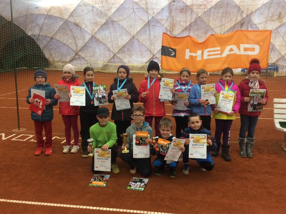 BABYTENIS Head Serie II. Znojmo - 22.1.2017