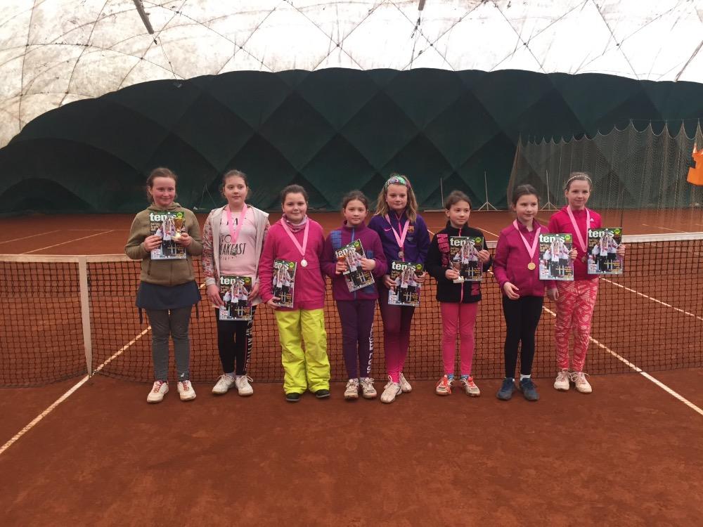 Klubový turnaj dívek 14.1.2017