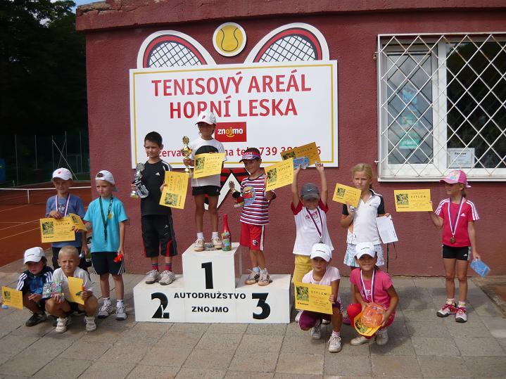 Babolat Cup v minitenise 30.8.2009