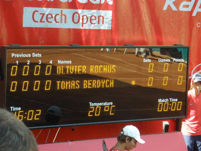 Náv?těva turnaje Unicredit Bank 2009 v Prostějově
