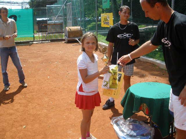 Minitenisový turnaj PRINCE CUP 4.7.2009