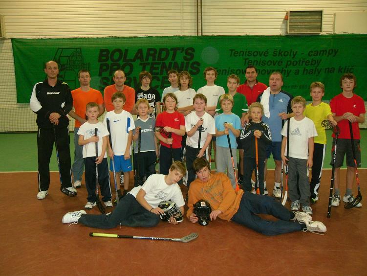 Florbalový vánoční turnaj 22.12.2009