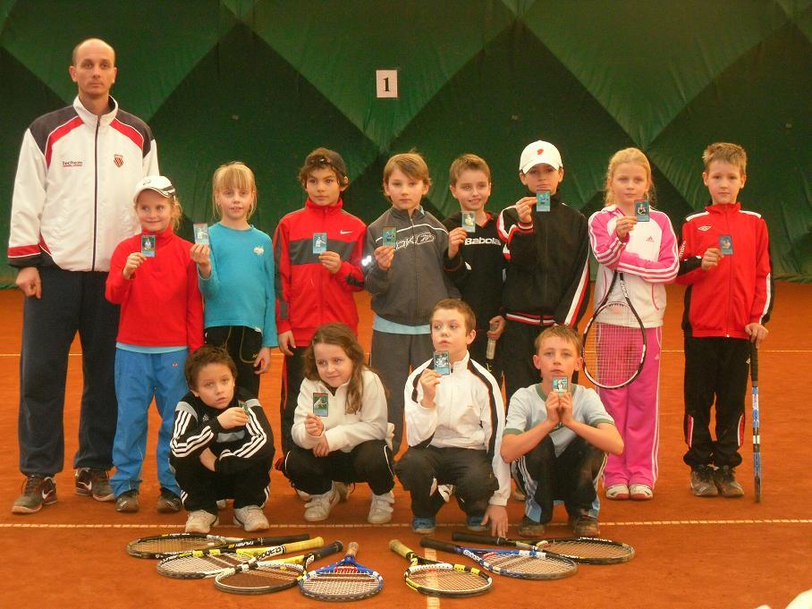 Babytenis. turnaj Dunlop Serie III. 25.2.2012