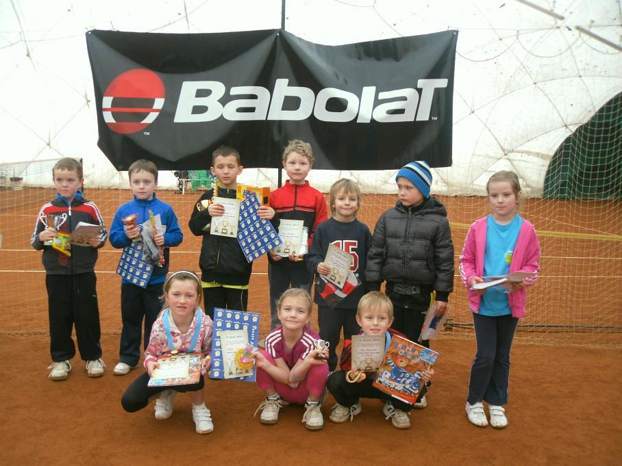 Minitenis. turnaj Babolat Serie III. 26.2.2012