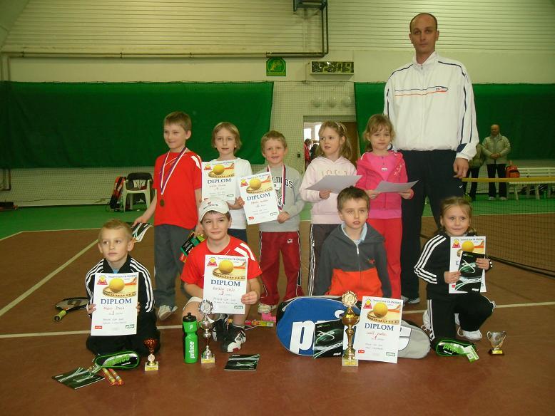 Halový minitenis.turnaj PRINCE CUP 13.3.2010