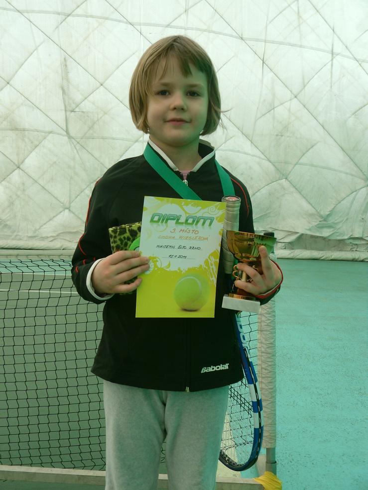 Simonka Wirglerová - turnaj na ?LTC 15.1.2011