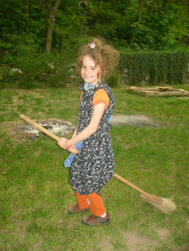 Pálení čarodějnic 30.4.2011