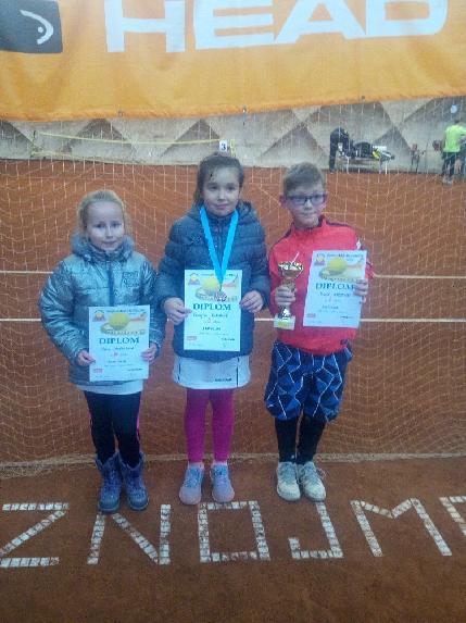 Znojemská trojice: S.Chocholová, K.Pokorná, T.Wirgler
