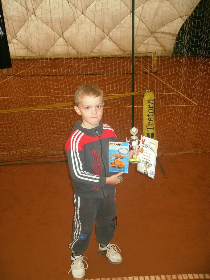 Tomá? Kopr obsadil 2.místo na minitenis.turnaji