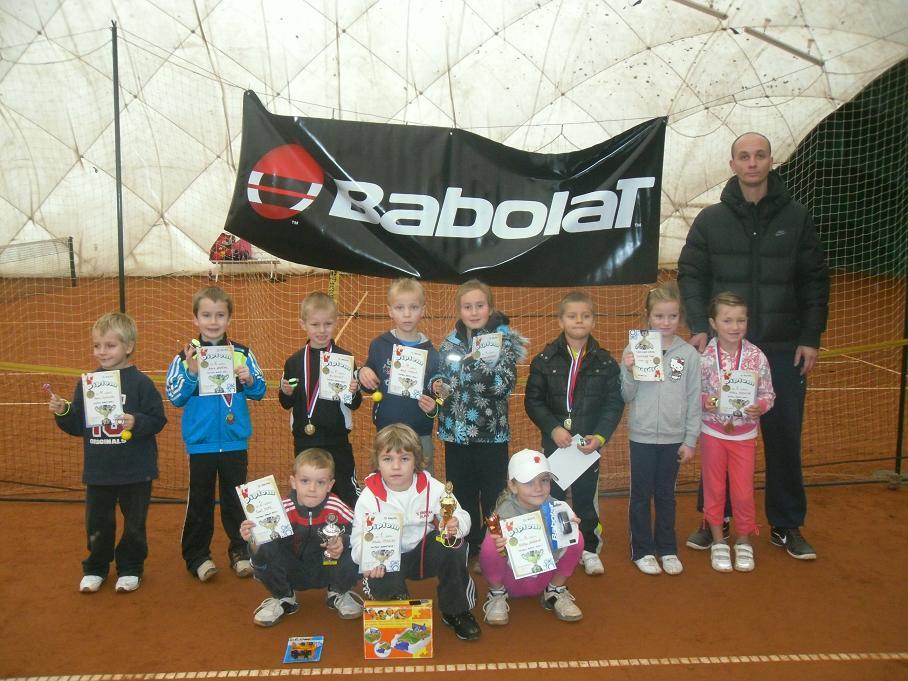 Minitenis. turnaj  Babolat Serie I.  10.12.2011