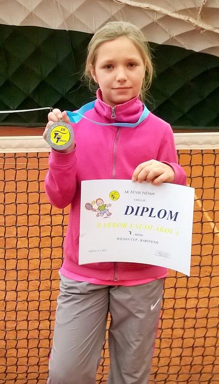 Barča Sedláková - 7.místo Tišnov 8.2.2015
