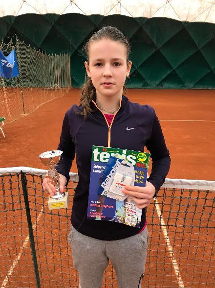 Simona Wirglerová 2.místo na turnaji dorostenek