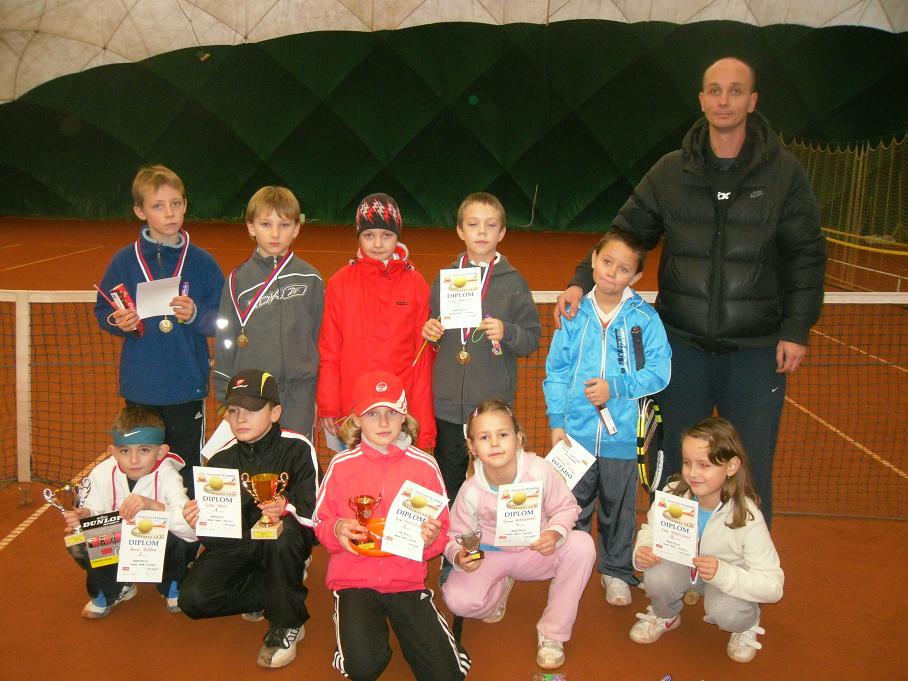 Babytenis. turnaj  Dunlop Serie I.  11.12.2011