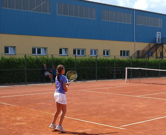 K.Novotná na turnaji v Poličce
