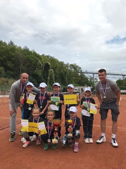 Krajské finále v minitenise - Znojmo 2.9.2017