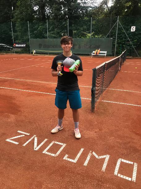 Karol Križan úspěšný na turnaji dorostu ve Znojmě