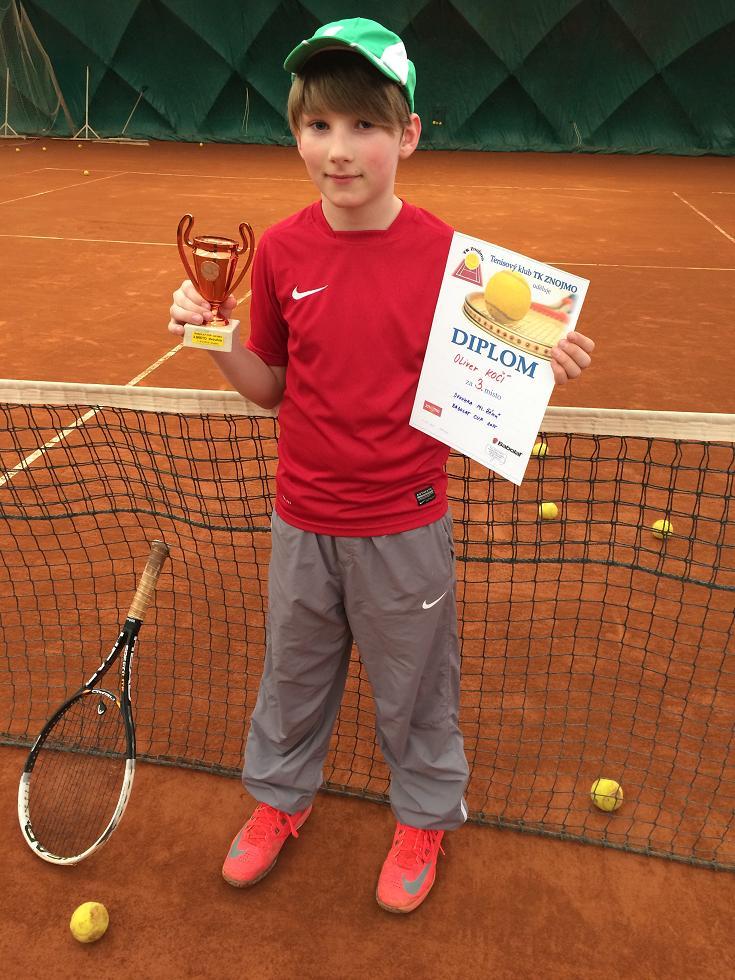 Oliver Kočí 3.místo dvouhra