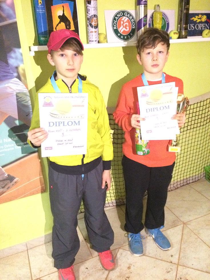 O.Kočí a D.Suchánek 3.místo čtyřhra