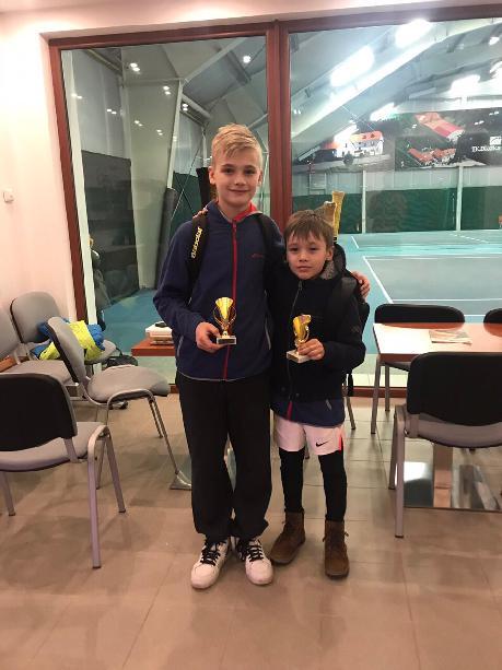Bratři Max a Florian Králíkovi vybojovali 3.místo