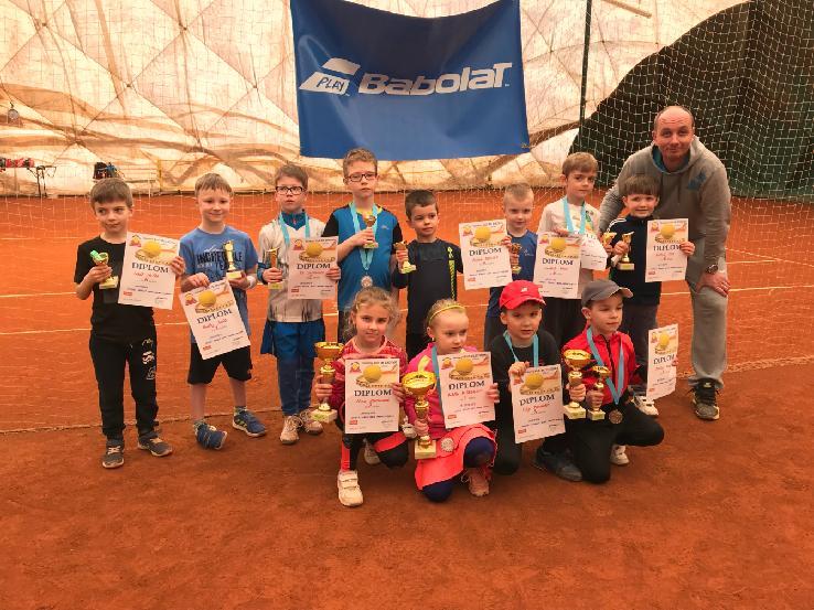 Masters Minitenis Babolat Serie Znojmo 24.3.2018