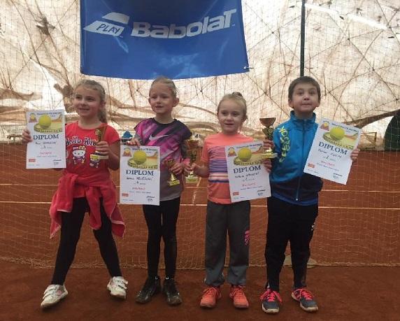 Semifinalisté turnaje v minitenise 19.11.2017