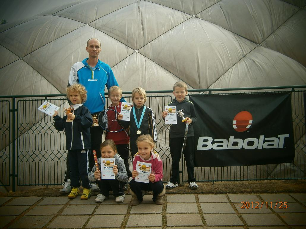 Minitenis  Babolat Serie Znojmo 25.11.2012