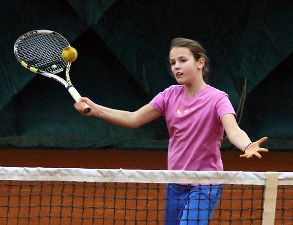 Simča Wirglerová zlatá na TC Brno 8.-9.4.2017