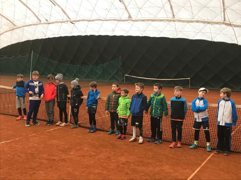 Účastníci turnaje v Tišnově