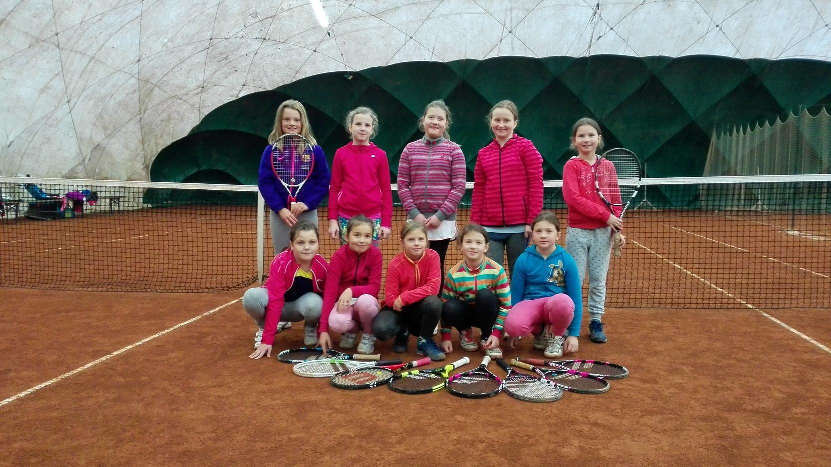 Turnaj dívek TK ZNOJMO 17.11.2016