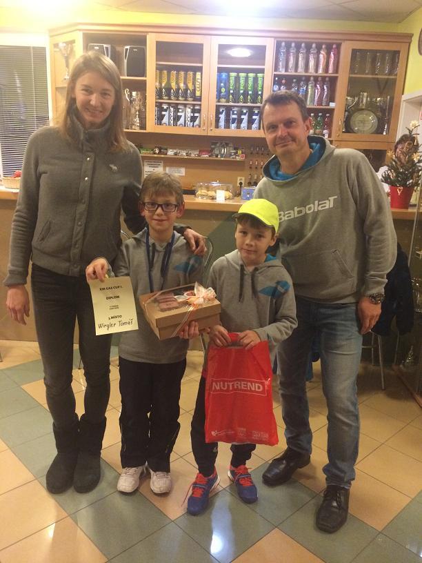 T.Wirgler a M.Králík na turnaji ve Zlíně-Hvozdná 3