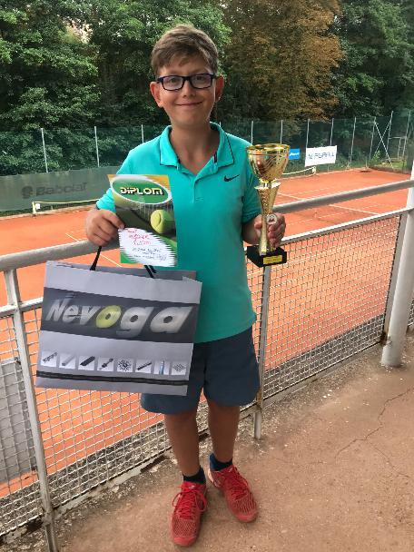 Tomáš Wirgler zlatý na turnaji tř.B ve Znojmě