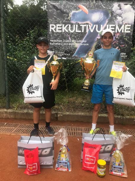 Finalisté dvouhry turnaje tř:A ml.žactva